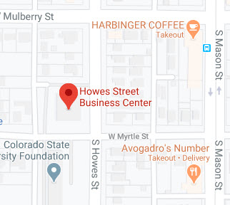 map of Howes Street Business Center