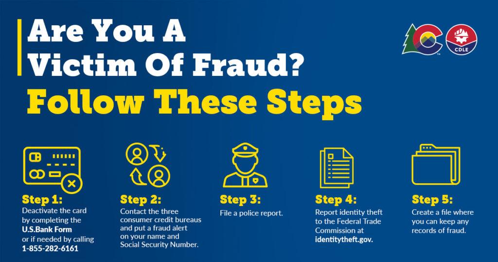 Fraudulent Employment Claim Infographic